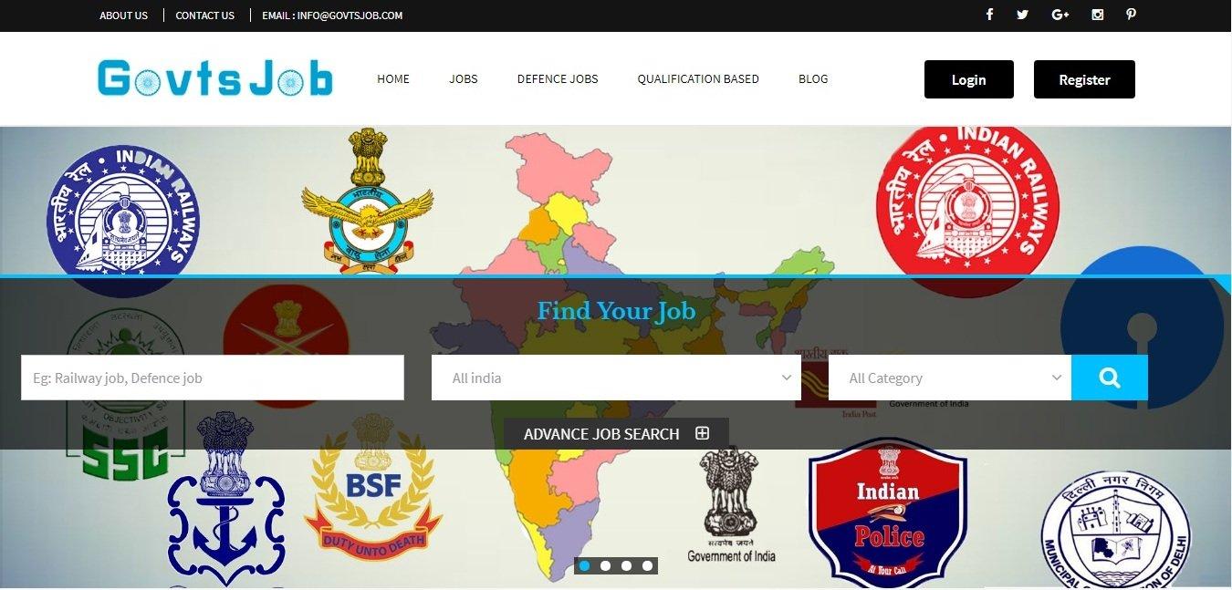 Latest Government Jobs,government jobs, sarkari naukari: Govtsjob com
